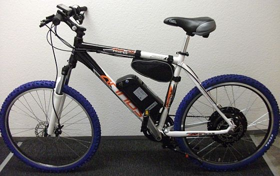 E-Bike 36V 500W Hydraulikbremsen LCD Display